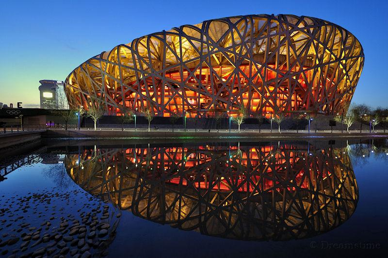 Beijing, Birds nest, stadium