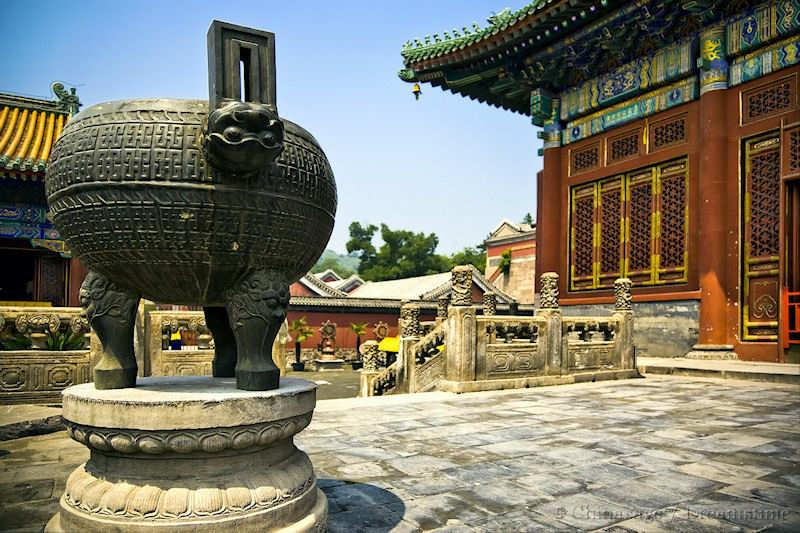 Hebei, Chengde, Buddhism, ding