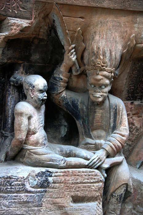 Tang dynastie, boeddhisme, Chongqing