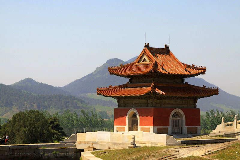 Qing dynasty, Qing tombs, Hebei, building