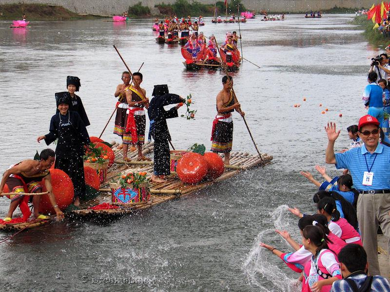 Guizhou, Dragon boat festival, people