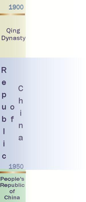 Republic of China 1912 - 1949