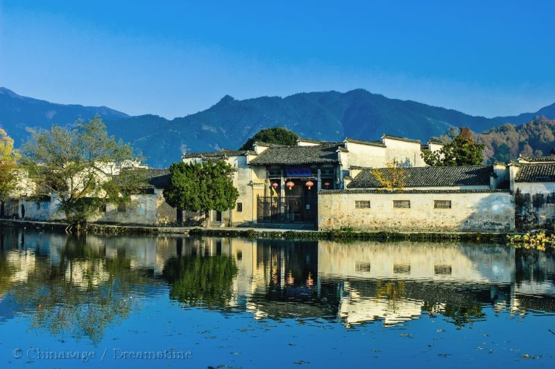 Anhui, Hongcun, building, village