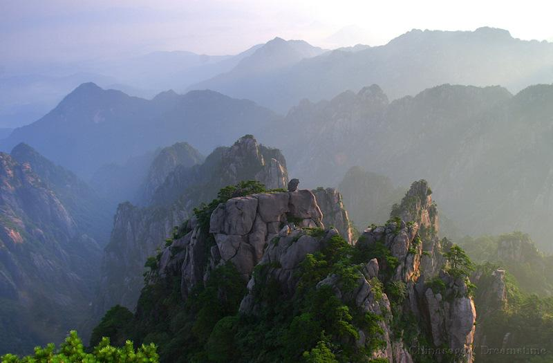 Anhui, Huangshan, mountains
