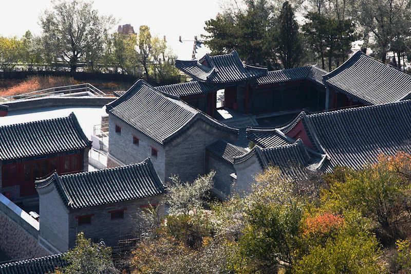 Beijing Hutong Courtyard Architecture
