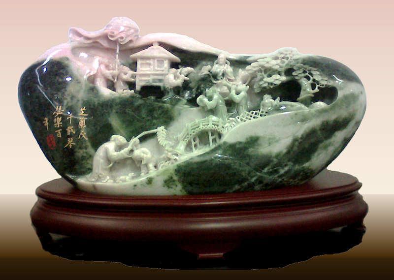 Jade china s precious gem