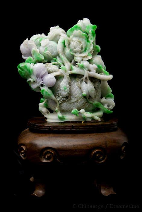 jade, carving