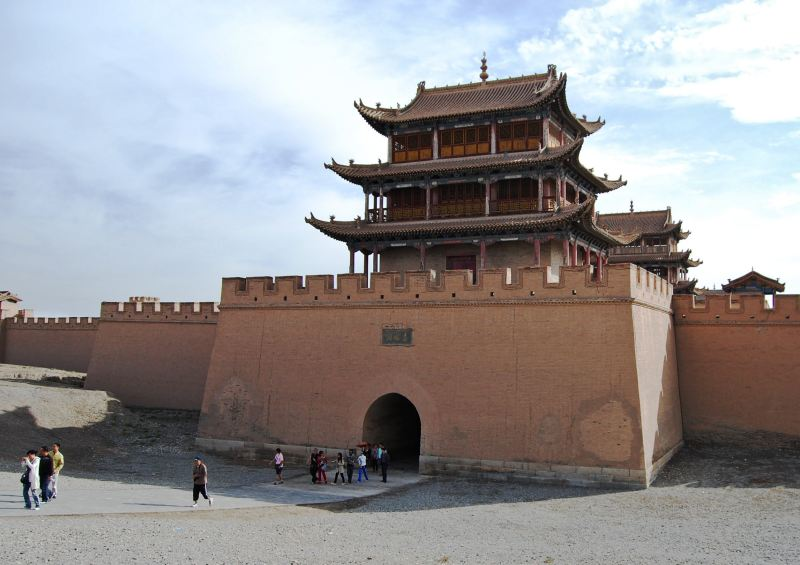 Silk road, Jiayuguan, fort