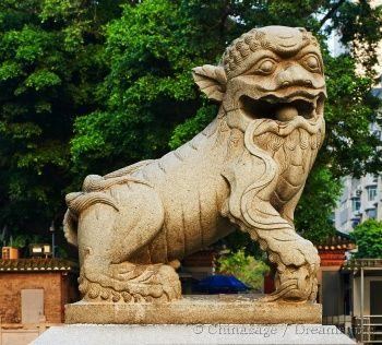 Qing dynasty, lion