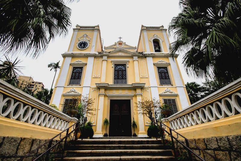 Macau, church