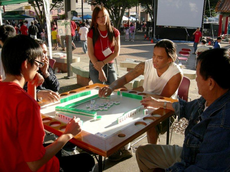 mahjong, game