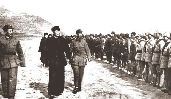 Mao Zedong, Zhu De, Long March