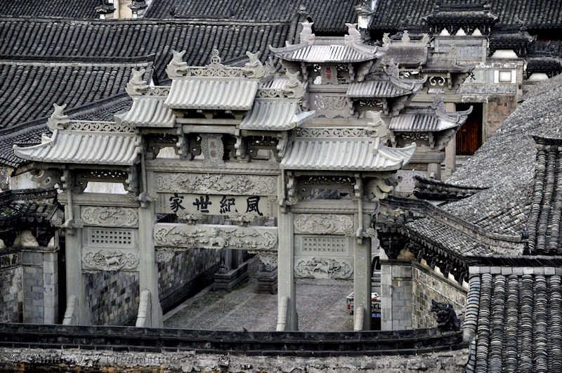 Paifang, Ming dynasty, architecture