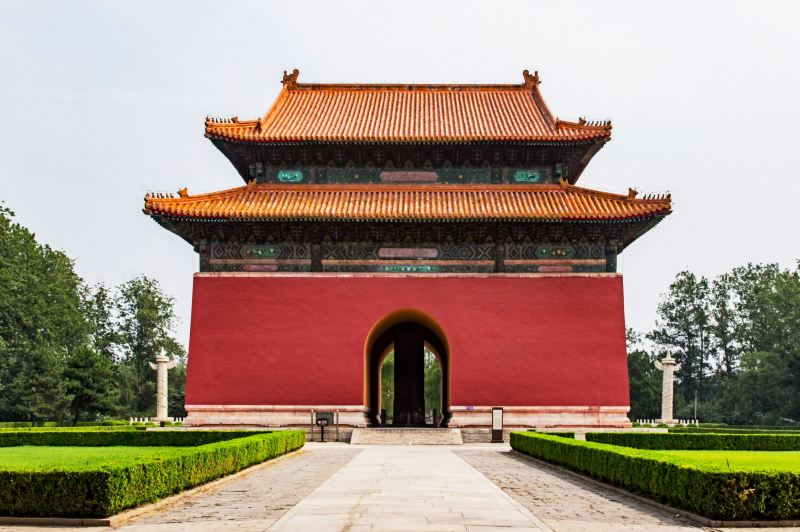 ming tombs, stele pavilion