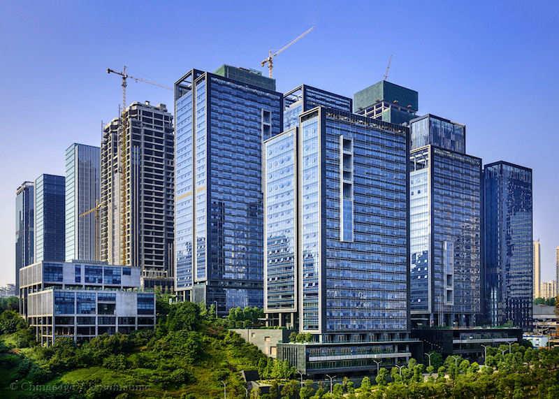 Chongqing, wolkenkrabber