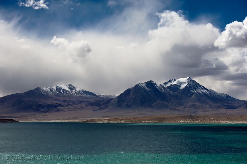 Qinghai, landscape, view, mountains