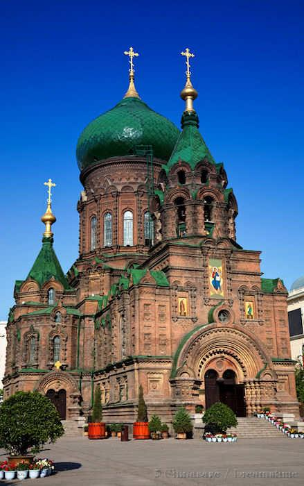 Heilongjiang, Harbin, church