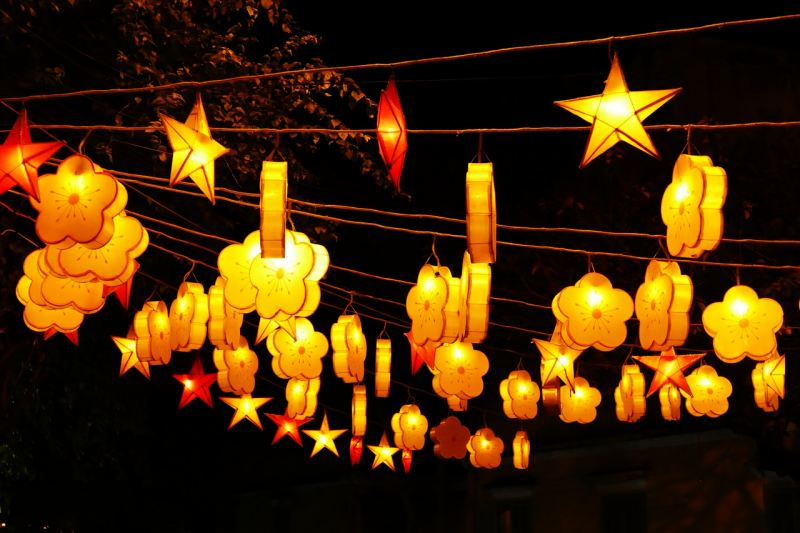 lanterns, new year