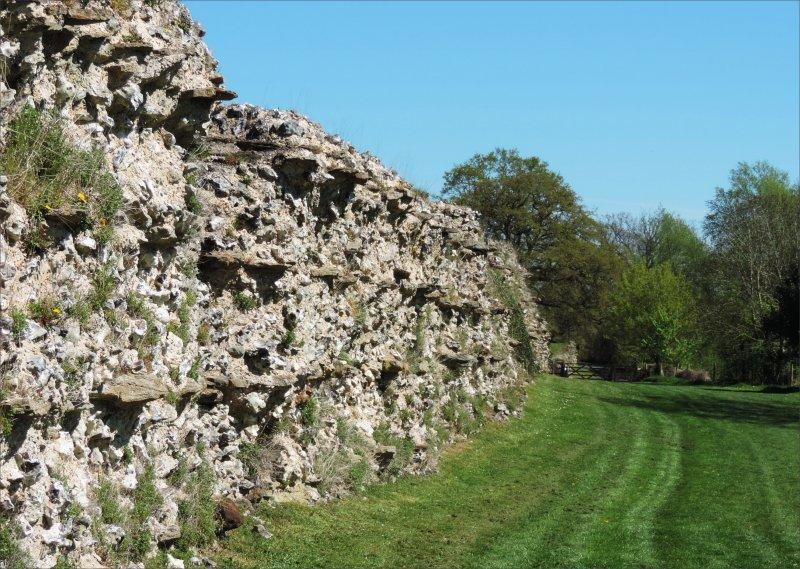 Roman Walls at Silchester