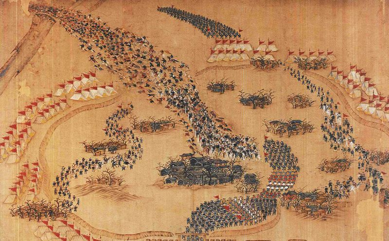 Taiping Rebellion, battle