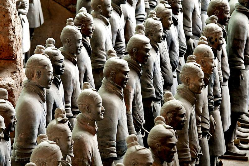 Qin dynasty, Terracotta army