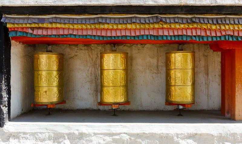 Buddhism , prayer wheel