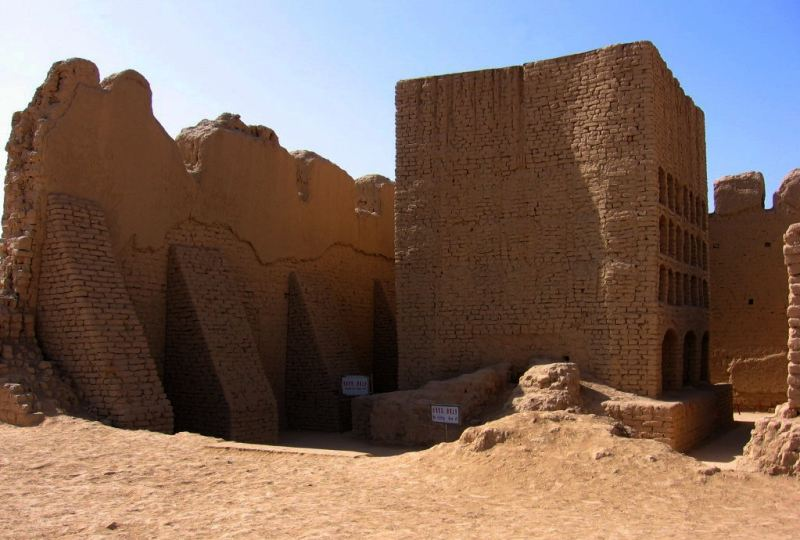 Turpan, silk road, fort