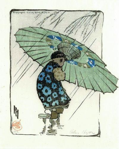 umbrella, boy