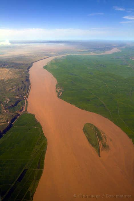 Yellow river, view, river