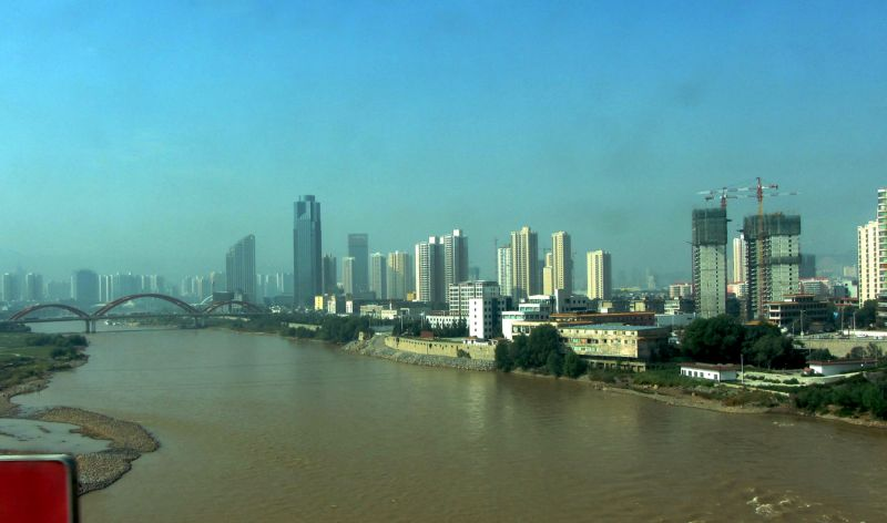 Yellow River, Lanzhou, Gansu
