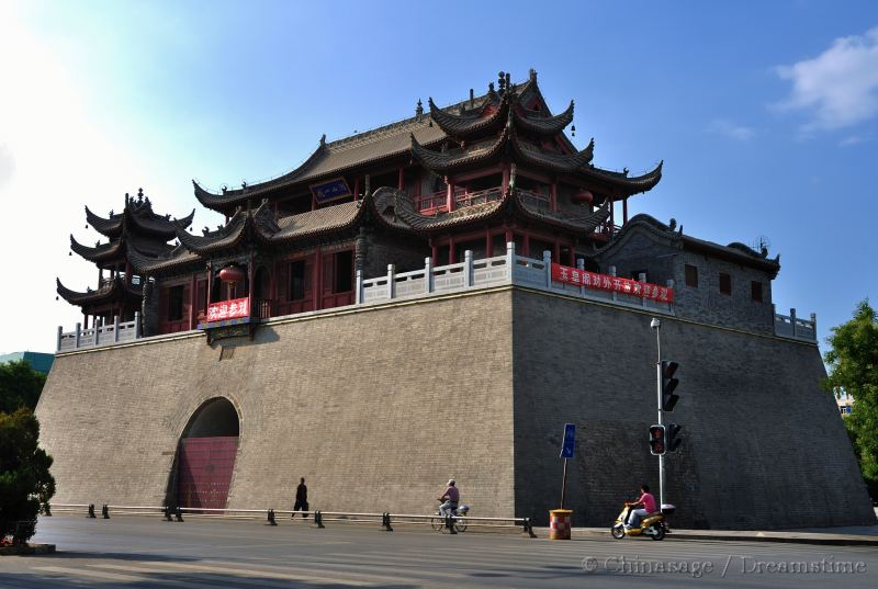 Ningxia, drum tower, gateway