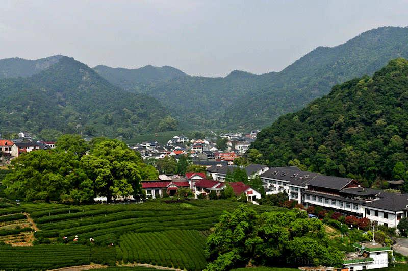 Zhejiang, mountains, view