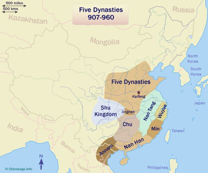 Five dynasties China