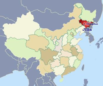 Jilin Province in Northern China