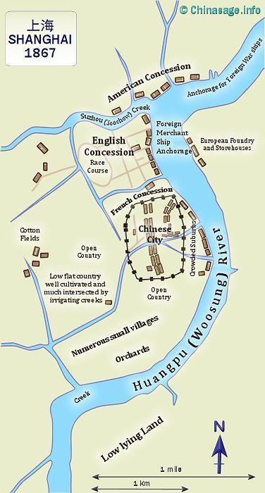 Treaty Ports In China - China to us seaports map