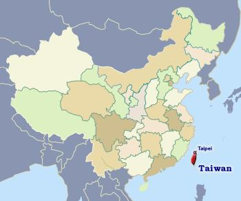 Position of Taiwan