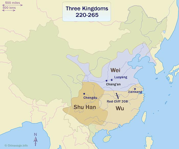 Three Kingdoms Map