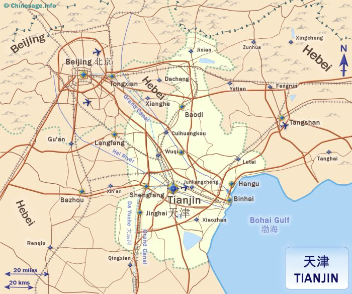 Tianjin city china map of tianjinchina map tianjin map gumiabroncs Image collections